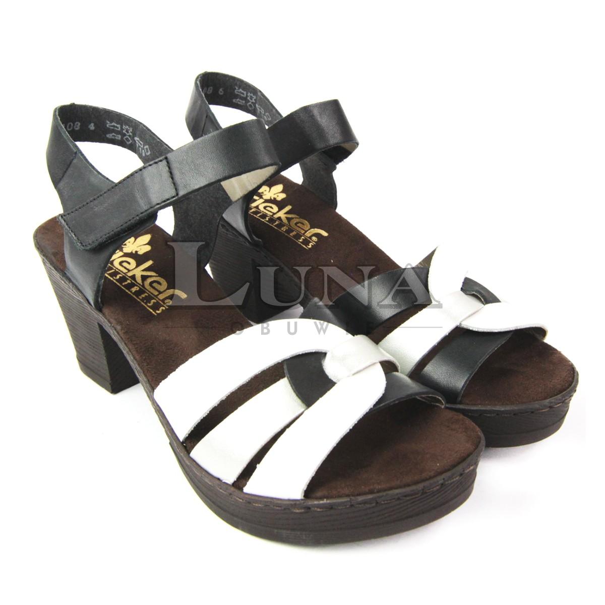 Sandały RIEKER