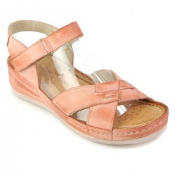 Sandały WASAK 0473 RÓŻ