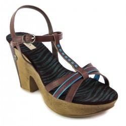 Sandały DIJEAN 723 REF BRĄZ