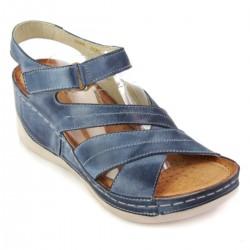 Sandały WASAK 0466 JEANS