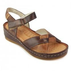 Sandały WASAK 0473 BRĄZ