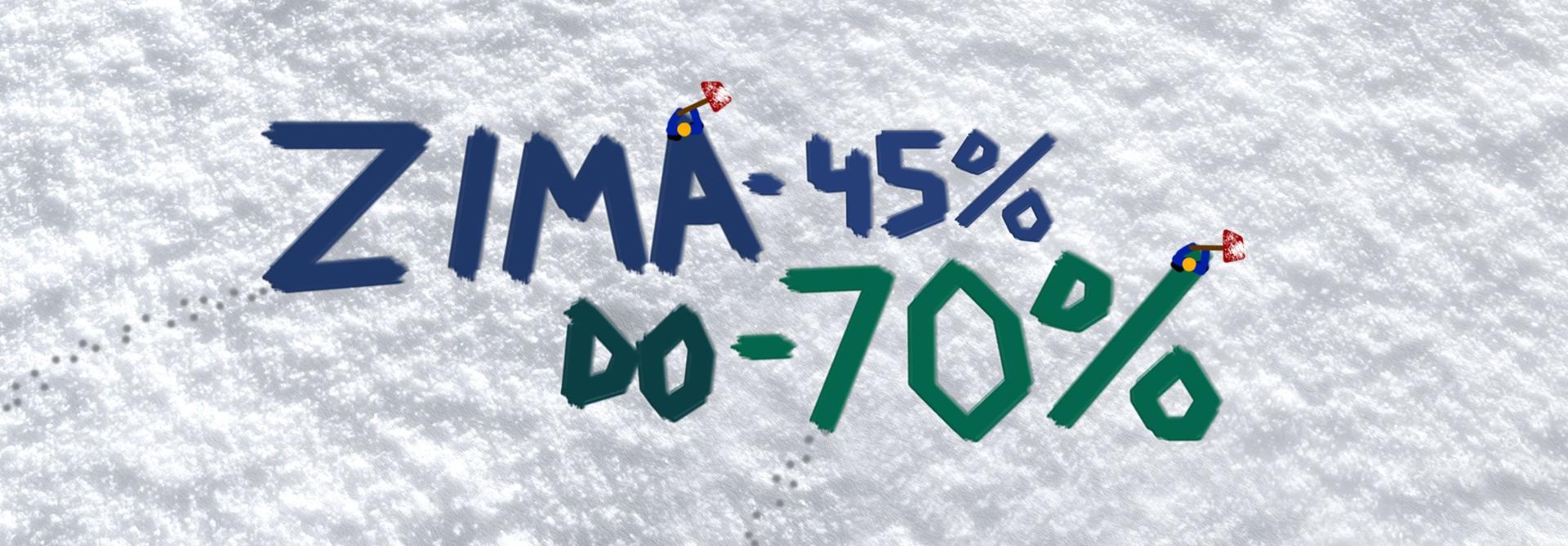 Wyprzedaż kolekcji zimowej minimum 45%! Buty zimowe -70%