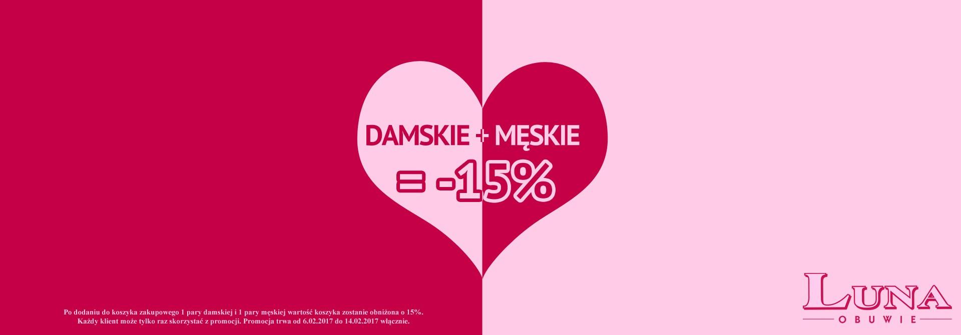 Walentynki Obuwie -15% Buty Prezent na Walentynki